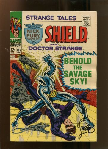 STRANGE TALES #165 (6.5) SIGNED BY STERANKO! 1968