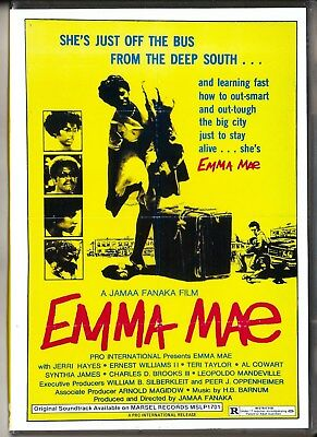 Emma Mae Aka Black Sisters Revenge Dvd Hd Trans Region 0 Inc Aust Like New