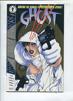 GHOST #5 TROPHY GHOST! (9.2) A. HUGHES COVER!