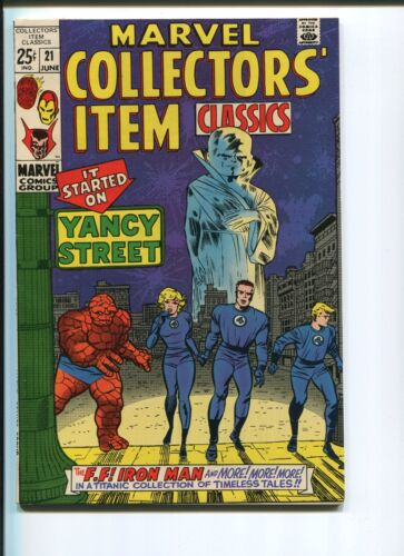 MARVEL COLLECTORS ITEMS CLASSICS #21   9.2 NM-  ORIGINAL OWNER!  NICE PAGES!