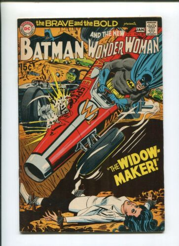 BRAVE & THE BOLD #87 (7.5) THE WIDOW MAKER 1970