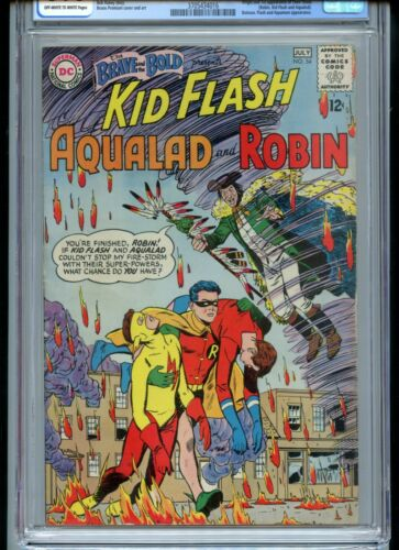 Brave and the Bold #54 CGC 6.0 OWTW Pages 1st Teen Titans