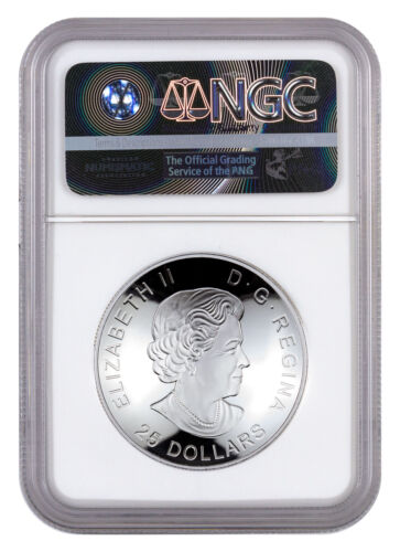 View from Space Domed 1 oz Silver Glow Dark $25 2017 Canada NGC PF70 UC SKU49725