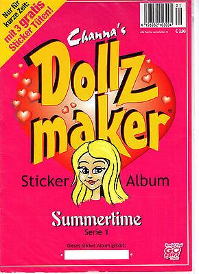 DOLLZ MAKER Album + Sticker (fast komplett, 7 fehlen) *