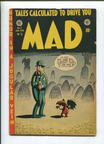MAD #3 (4.0) 1953 DRAGGED