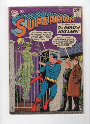 Superman #129 (May 1959, DC) - Good-
