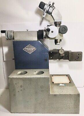 Engineered Tooling Corp. Tool Setter Microscope On Adjustable Stand