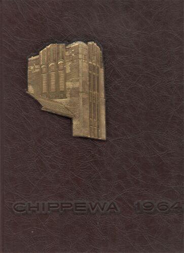 "1964 ""Chippewa"" - Central Michigan University Yearbook - Mt. Pleasant, Michigan+"