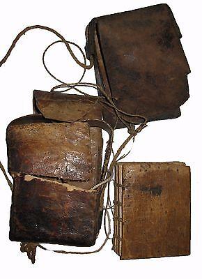 Old Ethiopian Ge'ez Manuscript Bible with Leather Case : Ethiopia Prayer Book