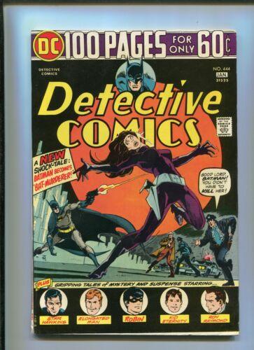"""DETECTIVE COMICS #444 (8.0) BATMAN BECOMES """"BAT-MURDERER"""" 1974"""