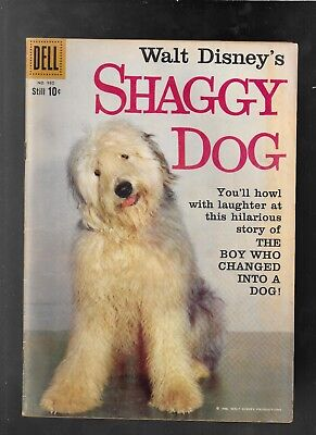 Walt Disney's Shaggy Dog 1959 Dell 4 Color 985 Annette Funicello vvery good