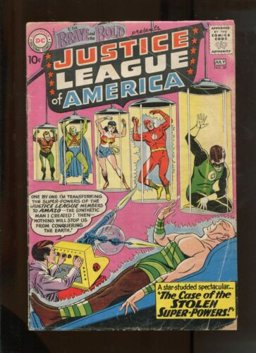 BRAVE AND THE BOLD #30 (3.0) 3RD APPEARANCE OF THE JUSTICE LEAGUE!