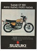 Pubblicità Epoca 1973 Suzuki Gt 380 Moto Motor Advertising Werbung Reklame - suzuki - ebay.it