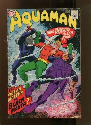 AQUAMAN #35 (4.0) 1ST APP OF BLACK MANTA! 1967