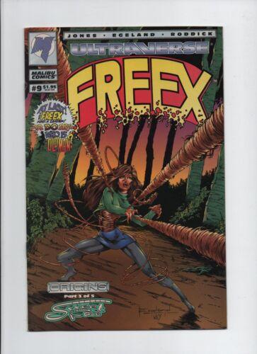 Ultraverse: Freex #9 - Malibu Comics - To Freak or Not to Freak - March 1994.