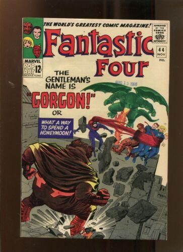 FANTASTIC FOUR #44 (8.0) GORGON!! 1965