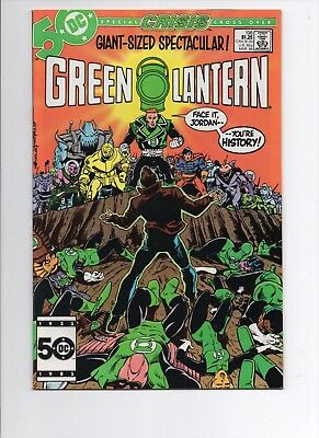GREEN LANTERN #198 DC Comics 1986 Guy Gardner Crisis on Infinite Earths