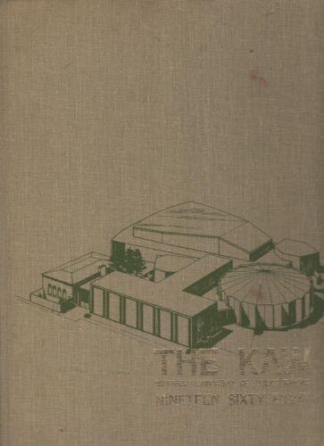 "1968 ""Kaw"" - Washburn University Yearbook - Topeka, Kansas +"