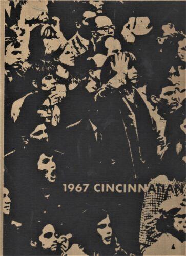 "1967 ""Cincinnatian"" - University of Cincinnati Yearbook - Cincinnati, Ohio"