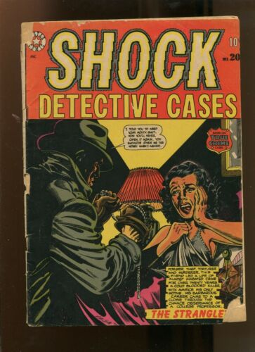 SHOCK DETECTIVE CASES #20 (2.0) THE STRANGLE! 1952