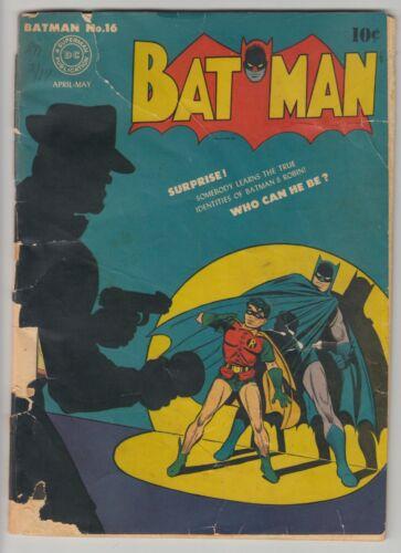 Batman 16 1st Alfred