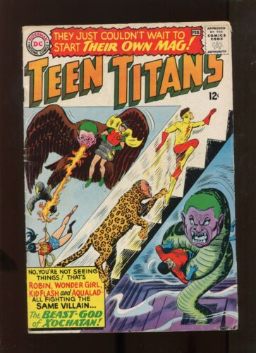 TEEN TITANS #1 (5.5) KEY ISSUE!
