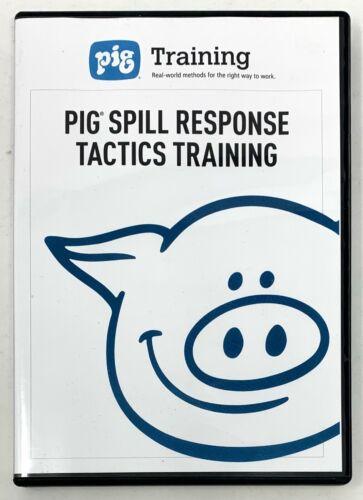 PIG Spill Response Tactics Training DVD