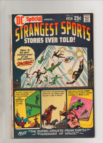 DC Special #13 - Strangest Sports Stories Ever Told! - (Grade 9.2) 1971