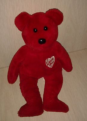 "2003 Retired Plush Red Beanie Baby ""Secret"""