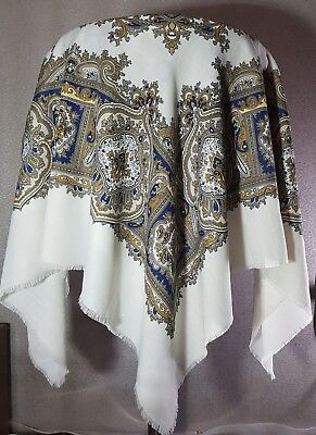 Vintage square shawl / scarf  fashion accessories , used for sale  Shipping to Nigeria