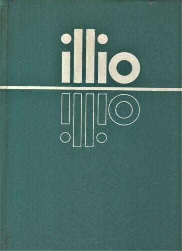 """1965 """"Illio"""" - University of Illinois Yearbook - Urbana, Illinois"""