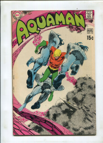 AQUAMAN #52 (7.0) CARDY COVER