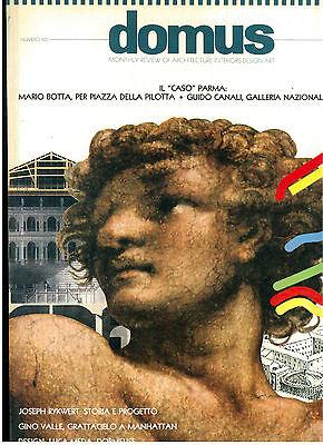 DOMUS 683 MAGGIO 1987 RIVISTA ARCHITETTURA URBANISTICA DESIGN