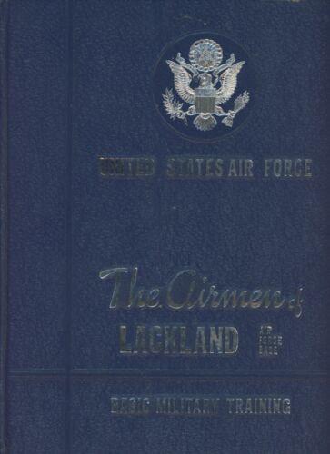 REPRINT 1970 Lackland Squadron 3708 Flt 324 325 Military Yearbook San Antonio TX