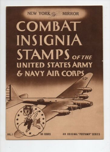 Combat Insignia Stamps of the United States Army and Navy Air Corps Vol.1 WWII