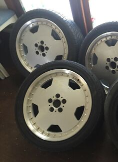AMG ALLOY STYLE REPLICA ALLOYS X3 only PCD100 5x100 stud pattern saab