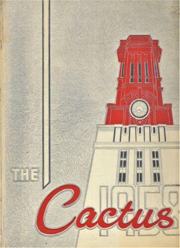 "1958 ""Cactus"" - University of Texas Yearbook - Austin, Texas"