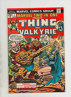 Marvel Two-In-One #7 - Thing & Valkyrie - (Grade 9.2) 1975