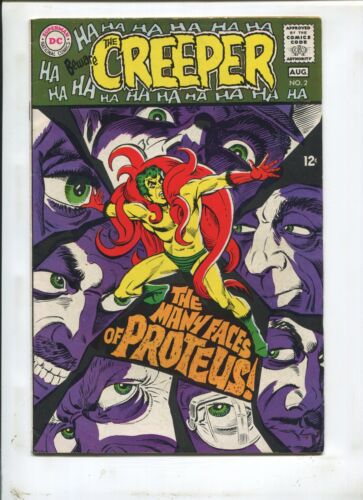 "BEWARE OF THE CREEPER #2 (7.0) ""THE MANY FACES OF PROTEUS!"" 1968"