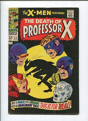 X-Men #42 (5.5) Death of Professor X - 1967