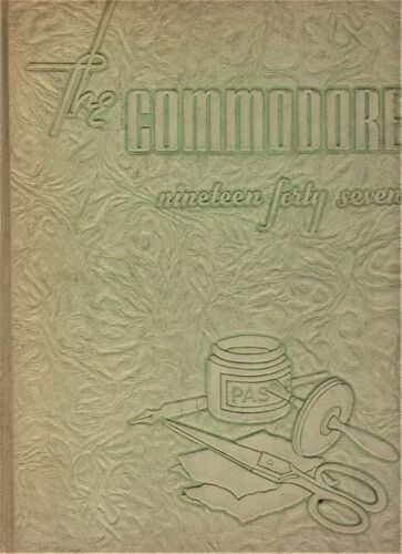 "1947 ""Commodore"" - Vanderbilt University Yearbook - Nashville, Tennessee"