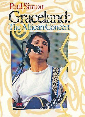 Paul Simon   Graceland   The African Concert  Dvd  1999