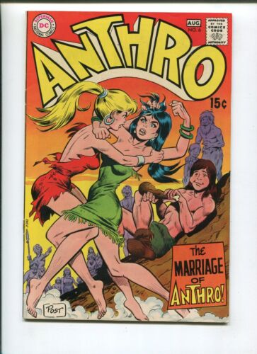 ANTHRO #6 (5.0) MARRIAGE! 1969