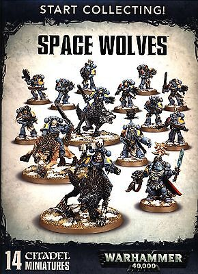 Warhammer 40K Start Collecting! Space Wolves New