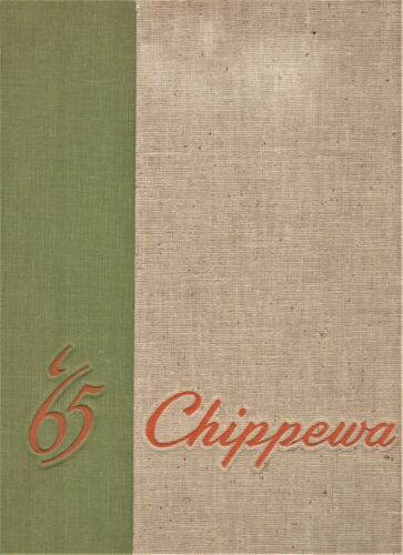 "1965 ""Chippewa"" - Central Michigan University Yearbook - Mt. Pleasant, Michigan+"