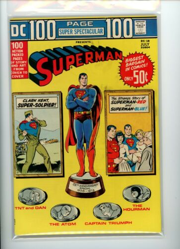 DC 100 Page Super Spectacular DC-18 Superman FN+