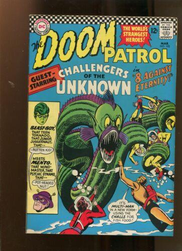 DOOM PATROL #102 (7.0) 8 AGAINST ETERNITY! 1966