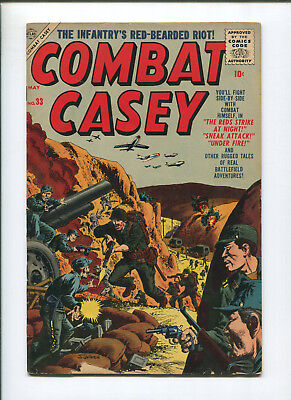 Combat Casey #33 (4.0) Infantry's Red-Bearded Riot - 1957