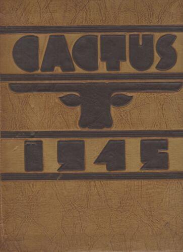 "1945 ""Cactus"" - University of Texas Yearbook - Austin, Texas"