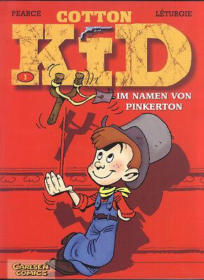 Cotton Kid Nr.1 von 2000 - TOP ungelesen! CARLSEN COMIC-ALBUM Pearce & Lethurgie